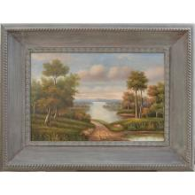 Waterway - Framed Oil