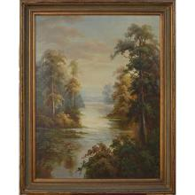 North Woods - Framed Oil