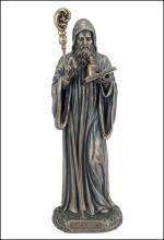 ST. BENEDICT - Cold Cast Bronze