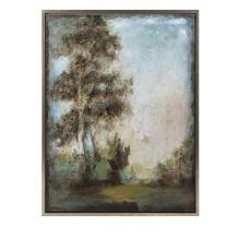 Harmonious Framed Oil Painting