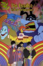 The Beatles Yellow Submarine 3-d Hologram Art