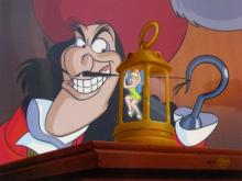 Disney Peter Pan & Captain Hook Dastardly Deed Limited Edition Hand Painted Cel