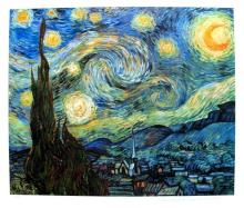Vincent Van Gogh Starry Night Estate Signed Limited Edition Giclee