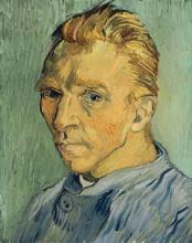 Vincent Van Gogh - Self Portrait Without Beard
