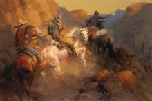 Ambush on the Bandit Trail by Andy Thomas