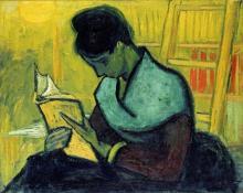 After Vincent Van Gogh - A Novel Reader