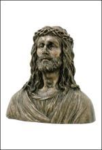 JESUS BUST - Cold Cast Bronze