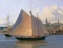 Christopher Blossom - Afternoon Arrival, Gloucester
