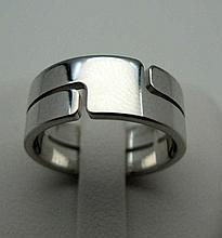 DINH VAN Seventies. Bague en or gris 750°/oo (18 k