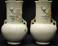 Pair of Weller vases