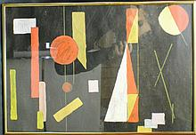 "Kasimir Malevich (Russian, 1878 – 1935, school) ""Abstract"""