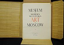 "1938 Russian Soviet Book: ""Museum of Modern Western Art in Moscow"""