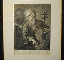 1741 Portrait of John Hebden, cellist