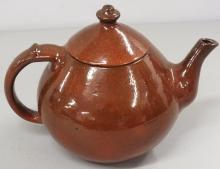 Ben Owen stoneware tea pot