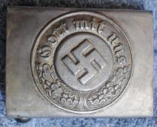 German Nazi Police belt buckle