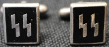 German Nazi SS cufflinks