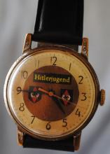 "German Nazi ""Hitlerjugend "" wrist watch"