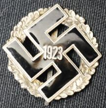 German Nazi Swastika badge