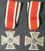 Pair of second class German Nazi Iron Crosses