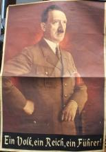 German Nazi poster, Adolf Hitler