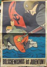 German Nazi Anti-Semitic poster