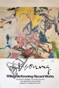 WILLEM DE KOONING - Color offset lithograph poster