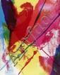 PAUL JENKINS - Color lithograph
