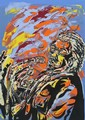 CURLEE RAVEN HOLTON - Color silkscreen