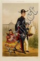LEMERCIER (PUBLISHER) DRANER/RENARD - Hand-colored lithograph heightened with gum arabic