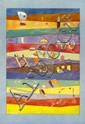 WASSILY KANDINSKY - Original color collotype