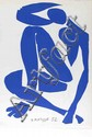 HENRI MATISSE - Original color lithograph