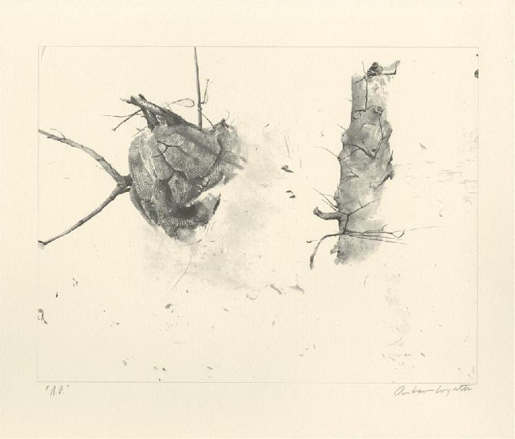 ANDREW WYETH [AFTER] - Offset lithograph