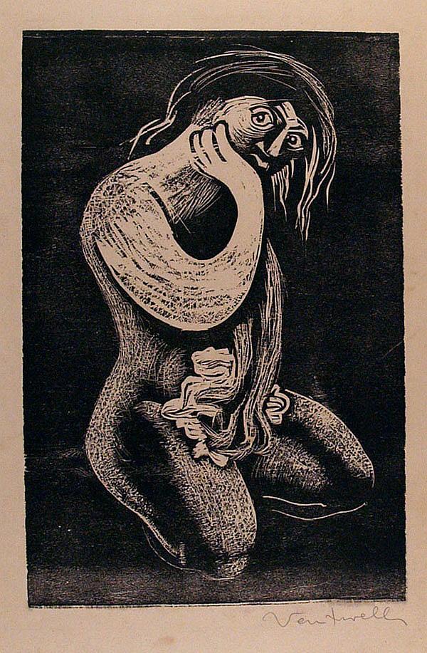JOSE VENTURELLI - Woodcut
