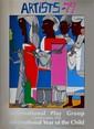 ROMARE BEARDEN - Color silkscreen poster