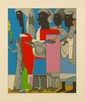 ROMARE BEARDEN - Color silkscreen