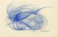 GIACOMO BALLA - Original color pencil drawing