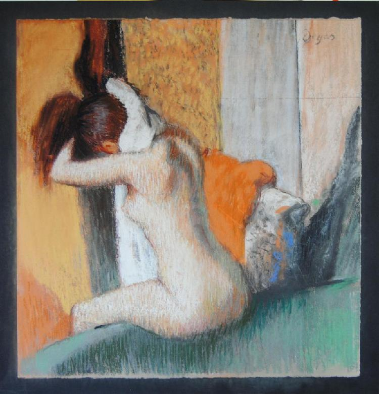EDGAR DEGAS [AFTER] - Pastel on paper