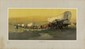 OSCAR BERNINGHAUS - Original color chromolithograph