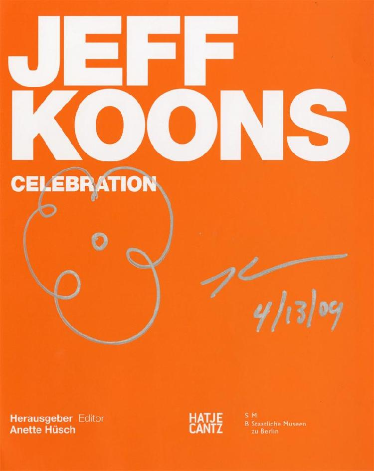 JEFF KOONS - Silver marker drawing