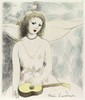 MARIE LAURENCIN - Original color etching, Marie Laurencin, &#x0024;300