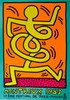 KEITH HARING - Original color silkscreen