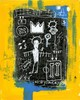 JEAN-MICHEL BASQUIAT - Oil on paper