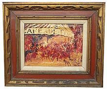 LEROY NEIMAN - Color silkscreen on canvas