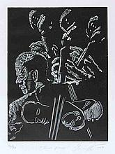 CURLEE RAVEN HOLTON - Linocut