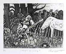 CURLEE RAVEN HOLTON - Etching