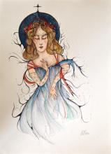 ESTELA WILLIAMS - Watercolor and ink on paper