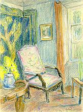 ROBERT SPENCER - Pastel on paper