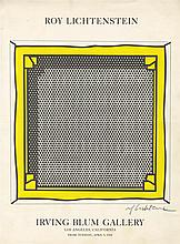 ROY LICHTENSTEIN - Original color silkscreen