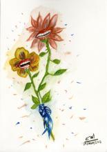 ESTELA WILLIAMS - Watercolor on paper