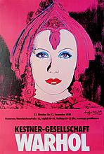 ANDY WARHOL - Color offset lithograph